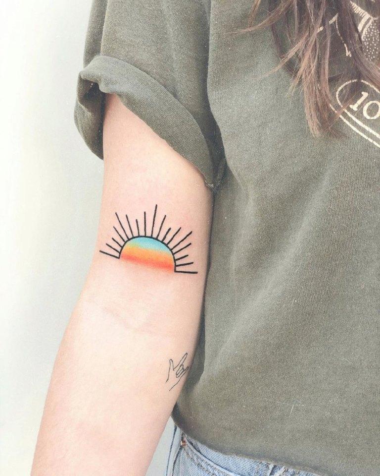 солнце тату значение