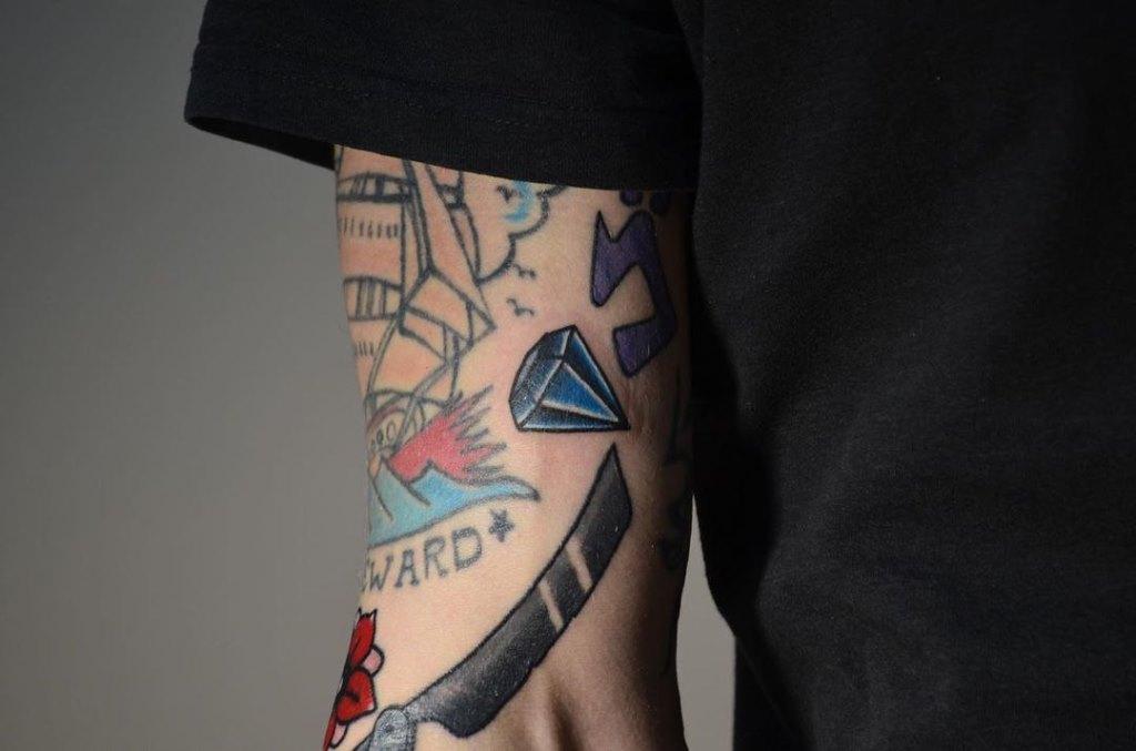 татуировки цветные
