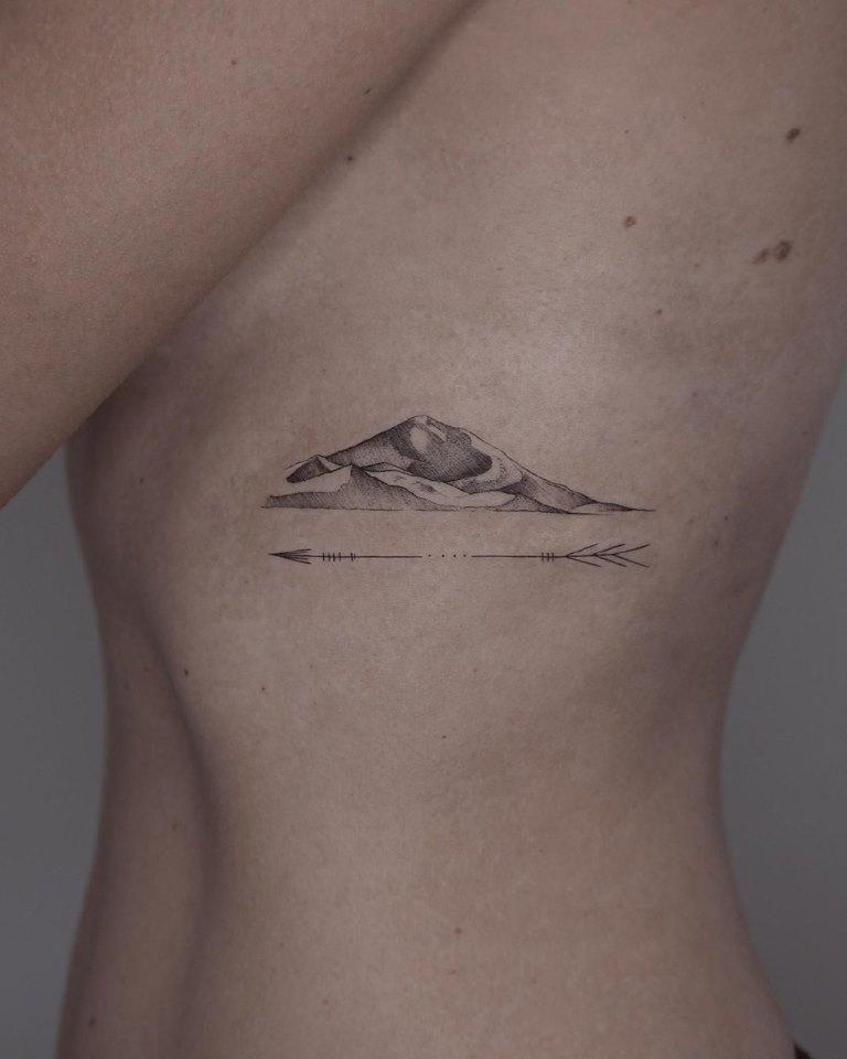 эскизы татуировок на ребрах