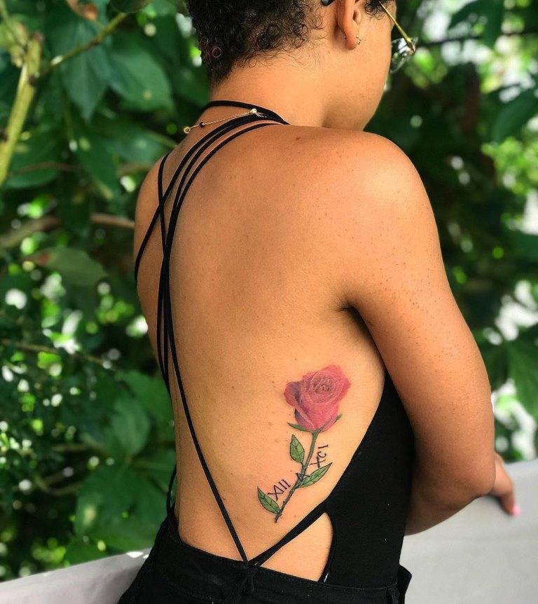 эскизы татуировок на ребра