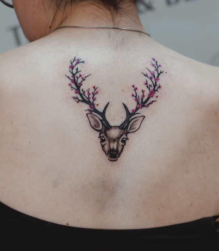 что значит тату оленя