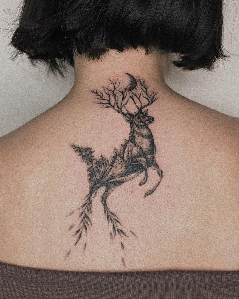 татуировка оленя значение