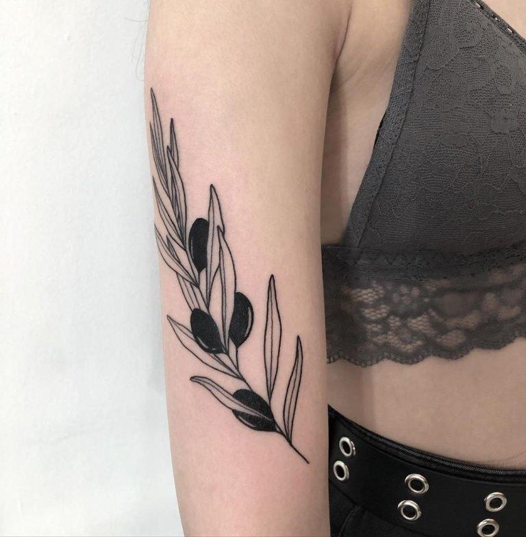 оливковая ветвь тату значение