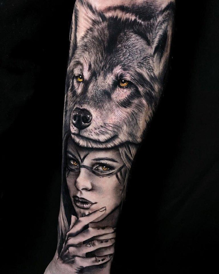 волчица тату значение