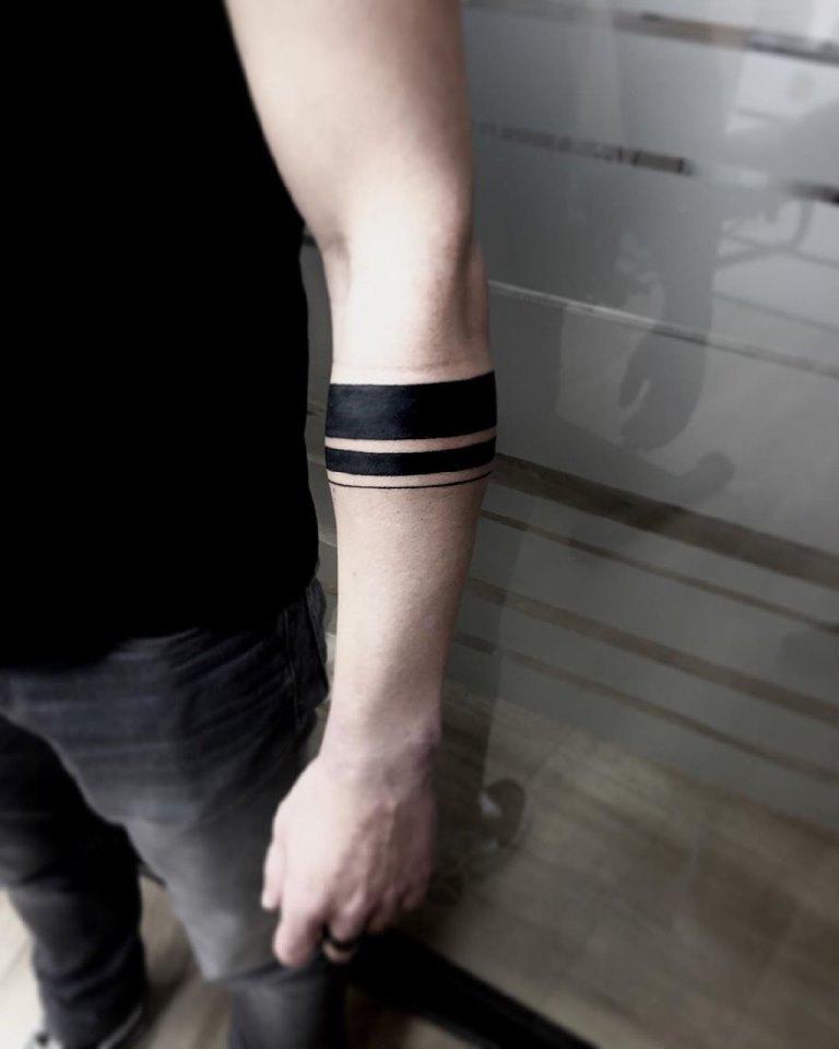 татуировка браслет