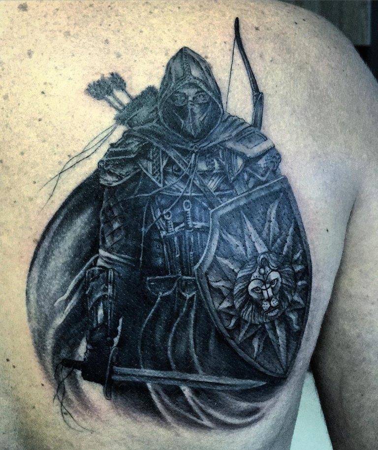 татуировки древних воинов