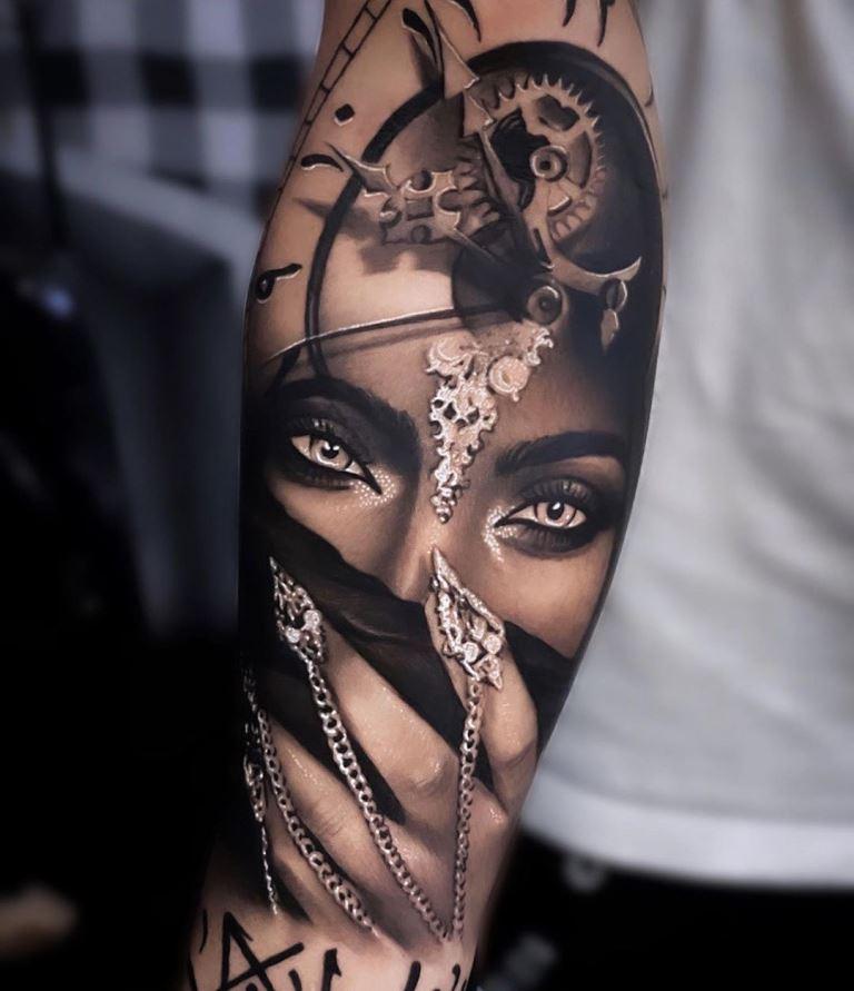 татуировки реализм
