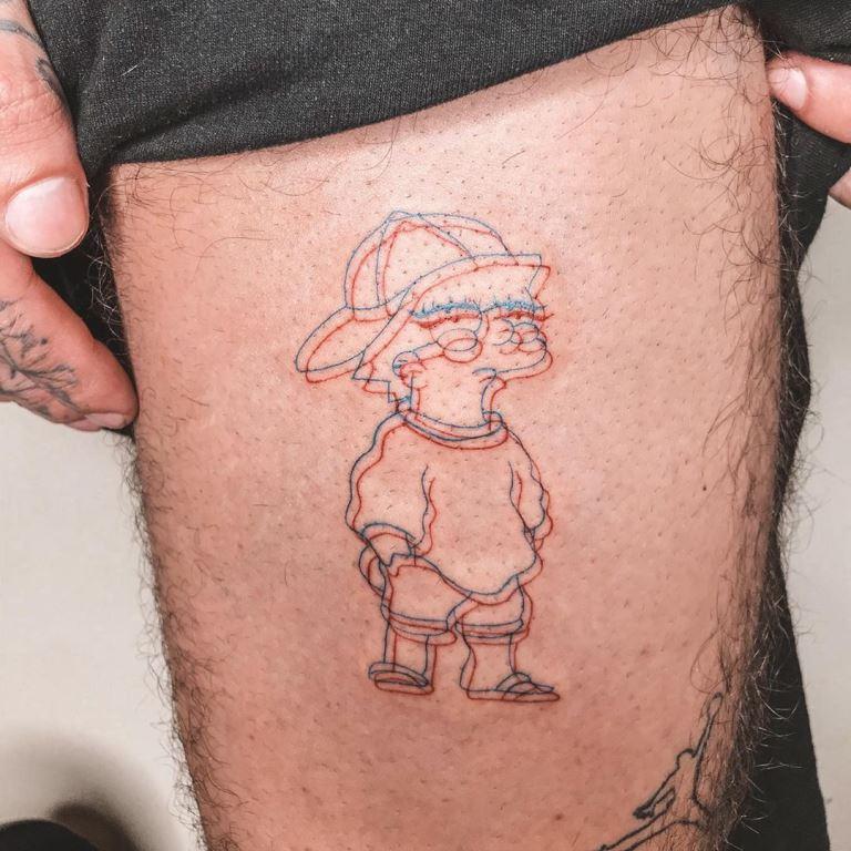 татуировки реализм мужские
