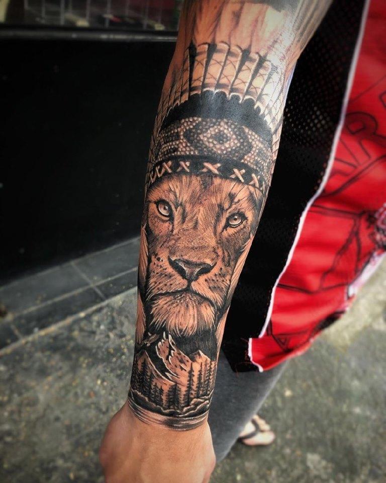 реализм татуировки