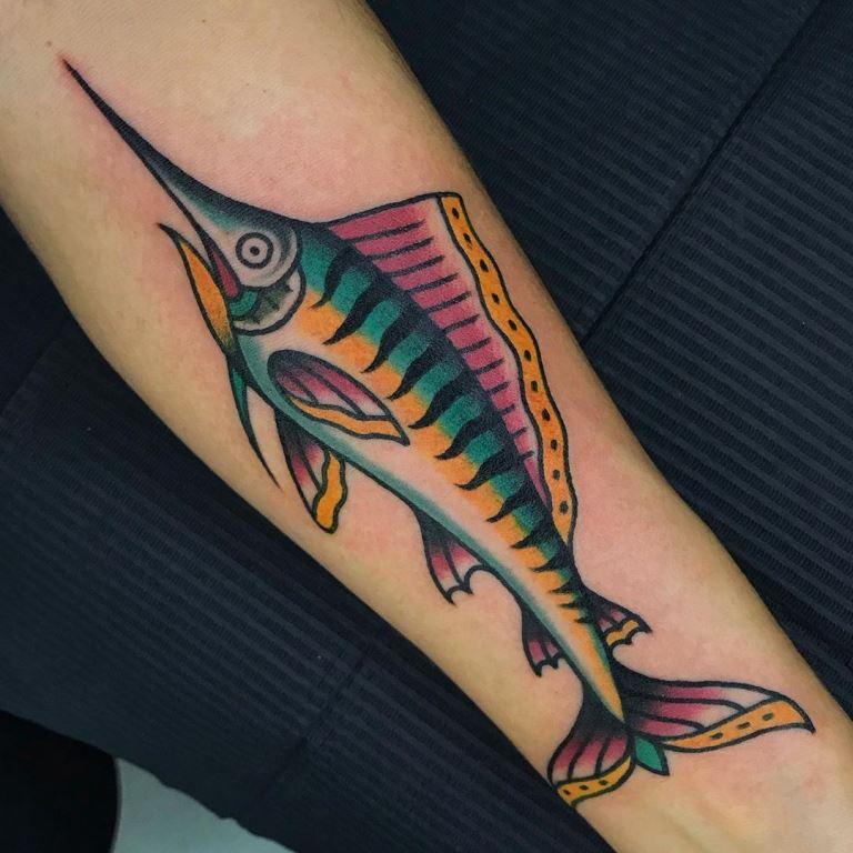 тату рыба