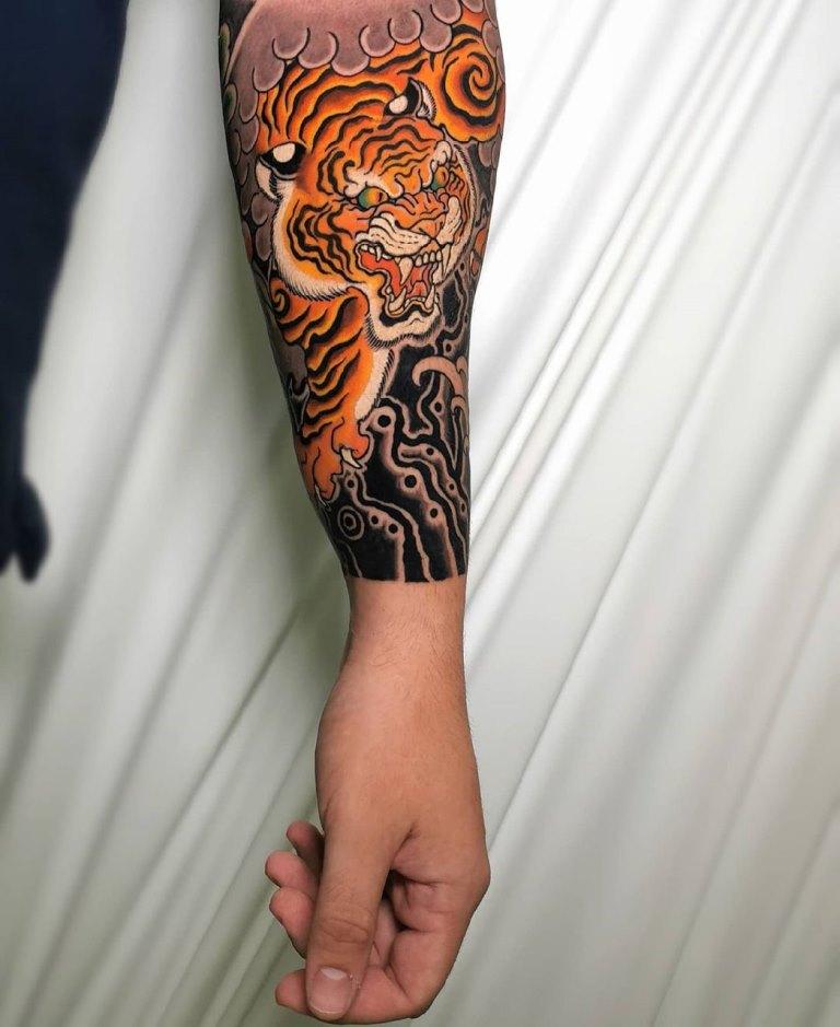 японский стиль тату