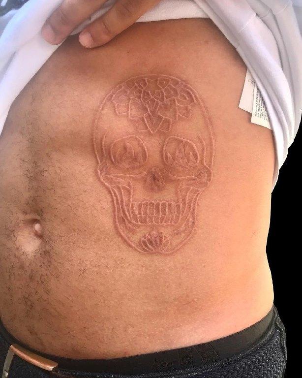 татуировки шрамирование