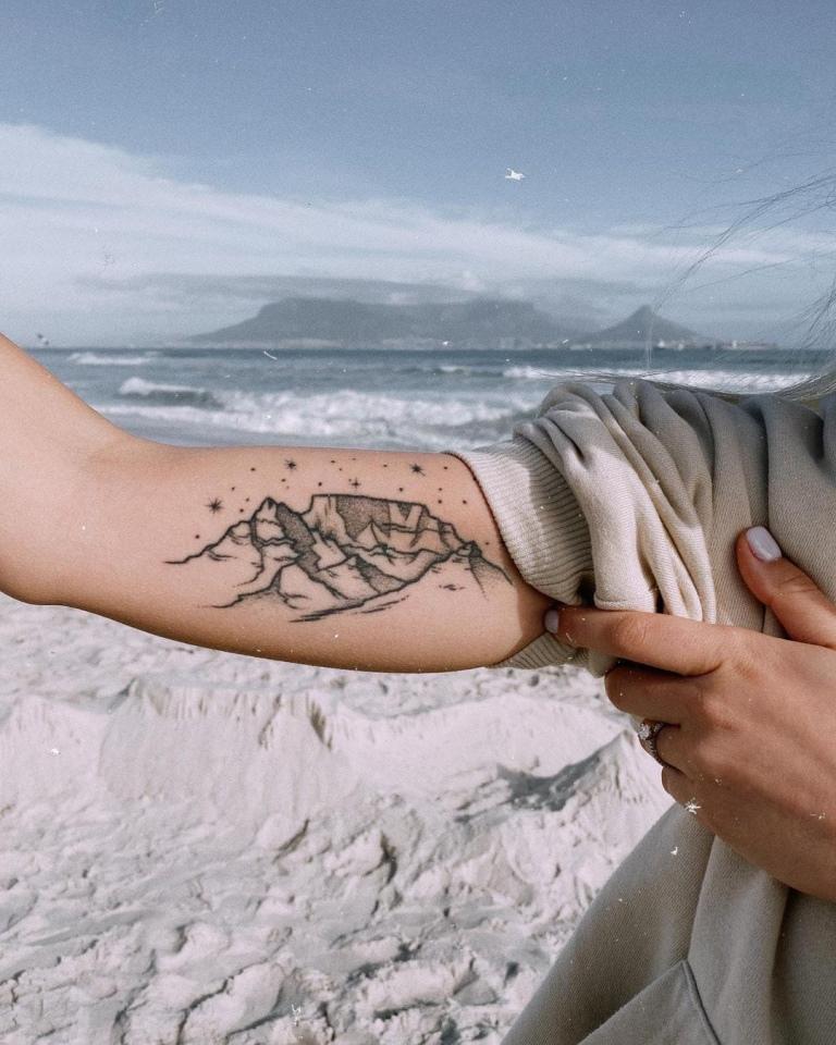 татуировка горы значение