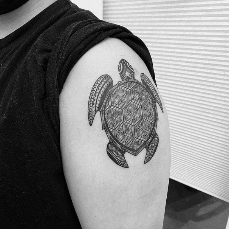 тату черепаха значение для девушек