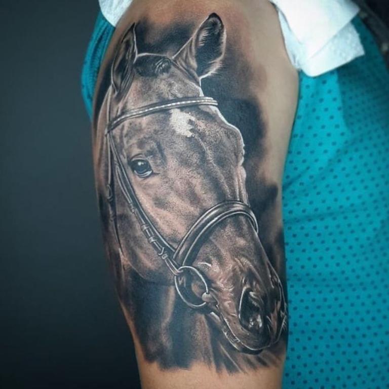 что означает тату лошади