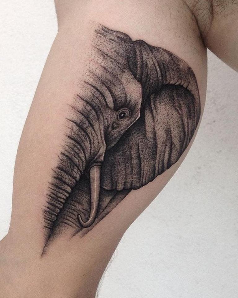 тату слоник значение