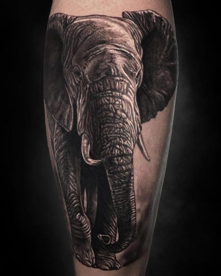 татуировка слон значение