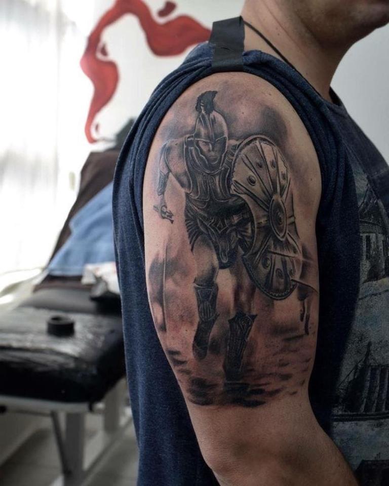 что означает тату спартанец
