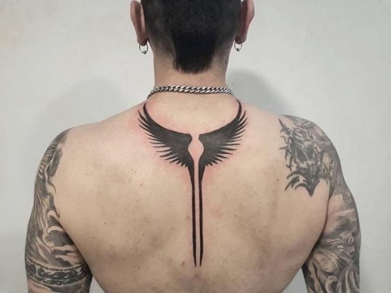 крылья валькирии татуировка